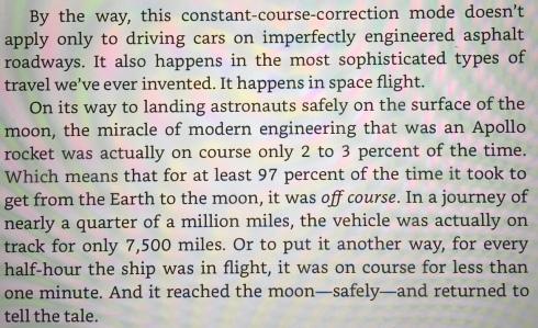 Course Correction - The Slight Edge